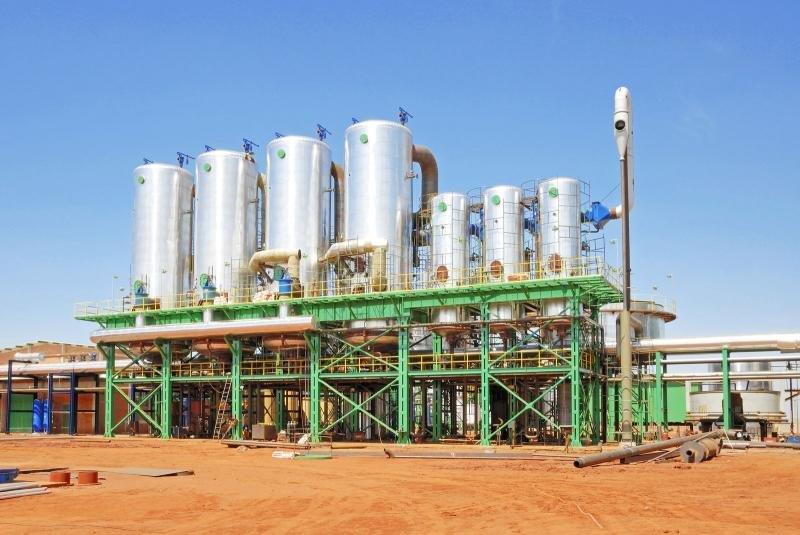 Empresa de plantas de canalização
